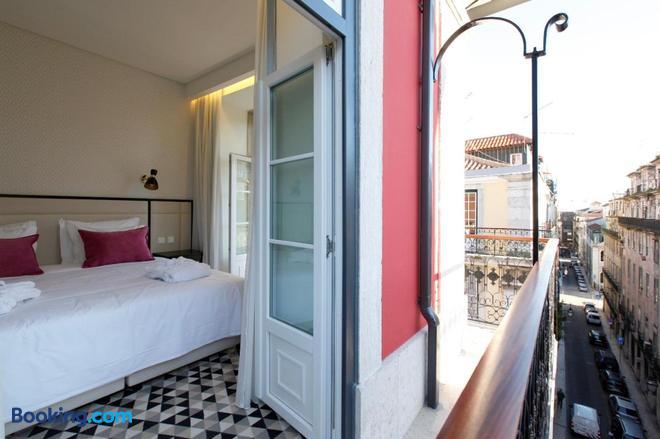 Hotel Lis - Baixa - Lisbon - Balcony