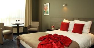 庭院酒店 - 魯汶 - 魯汶 - 臥室
