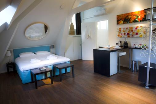 A Small Hotel - Rotterdam - Phòng ngủ