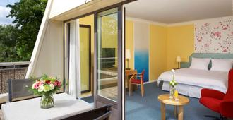 Hotel Parc Plaza - לוקסמבורג סיטי - חדר שינה