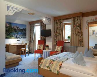 Hotel Al Sonnenhof - San Vigilio di Marebbe - Slaapkamer