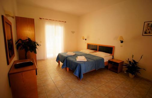 Toni's Guesthouse - Κάβος - Κρεβατοκάμαρα