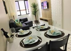Apartamento Ametista 2 - Масейо - Обеденный зал