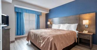Quality Suites Quebec - קוויבק סיטי - חדר שינה