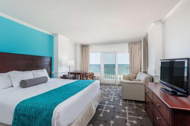 Howard Johnson Plaza by Wyndham Ocean City Oceanfront - Ocean City - Bedroom