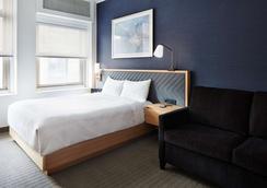 Club Quarters Hotel, Wall Street - New York - Schlafzimmer