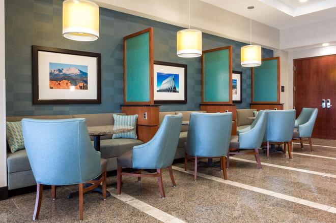 科羅拉多斯普林斯德魯里酒店 - 科羅拉多斯普林斯 - 科羅拉多泉 - 休閒室