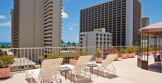 Ewa Hotel Waikiki - Honolulu - Ban công