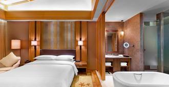 Sheraton Grand Hangzhou Wetland Park Resort - Hangzhou - Bedroom