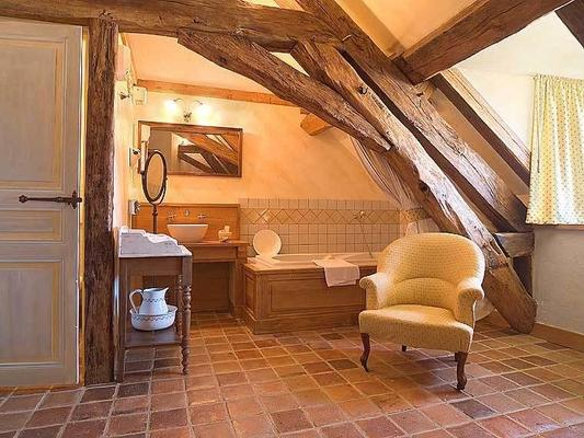 Auberge de la Beursaudiere - Nitry - Bathroom