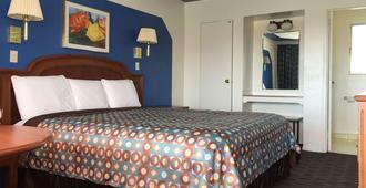 拉布林玫瑰汽車酒店 - 京曼 - 金曼 - 臥室