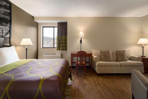 Super 8 by Wyndham Ithaca - Ithaca - Bedroom