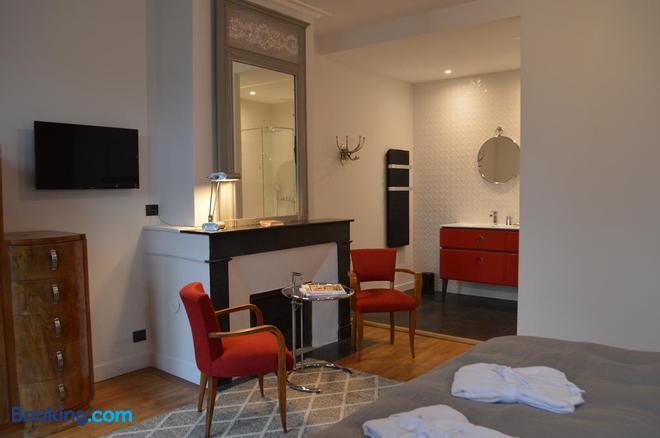 Chambre d'hôtes L'esprit du 8 - Rochefort - Bedroom