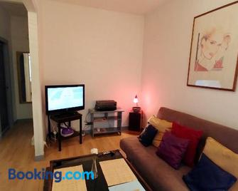 House With one Bedroom in Montreuil, With Enclosed Garden and Wifi - Montreuil - Living room