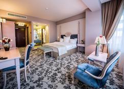 Pleiada Boutique Hotel And Spa - Iaşi - Bedroom