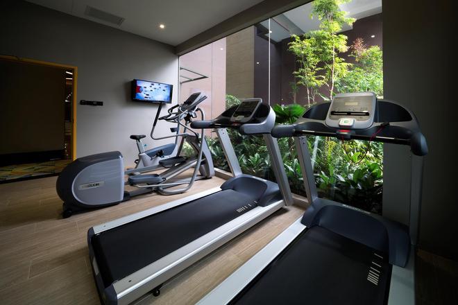 Hotel MI - Сингапур - Спортзал