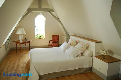 Chambres d'Hôtes Le Château de la Plante - Thuré - Bedroom