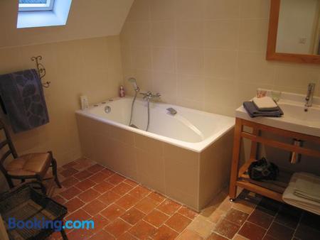 Chambres d'Hôtes Le Château de la Plante - Thuré - Bathroom
