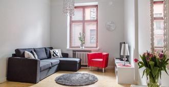 Go Happy Home Apartment Runeberginkatu 6 - הלסינקי - סלון