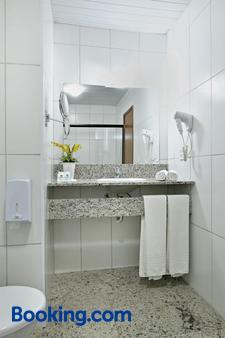 Vilage Inn Ribeirão Preto - Ribeirão Preto - Phòng tắm