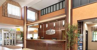 Crystal Inn Hotel & Suites - Salt Lake City - סולט לייק סיטי - דלפק קבלה