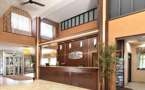 Crystal Inn Hotel & Suites - Salt Lake City - Salt Lake City - Front desk