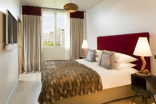 巴黎巴士底哥霍斯卡住宅酒店 - 巴黎 - 巴黎 - 臥室