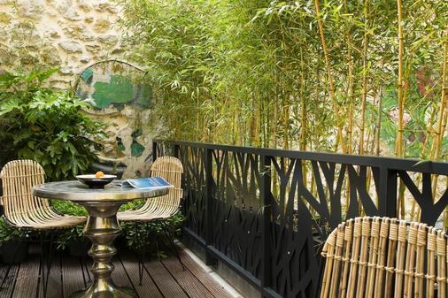 巴黎巴士底哥霍斯卡住宅酒店 - 巴黎 - 巴黎 - 陽台