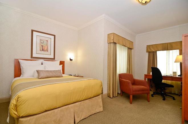 西方最佳德安扎酒店 - 蒙特利 - 蒙特里杰克 - 臥室
