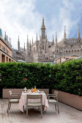 Rosa Grand Milano - Starhotels Collezione - Mailand - Balkon