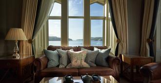 Oban Bay Hotel - Oban - Living room