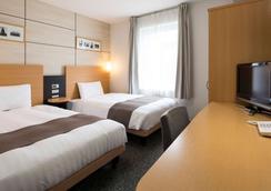 東京東日本橋Comfort飯店 - 東京 - 臥室