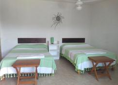 La Casa Del Volcan - Tlayacapan - Chambre