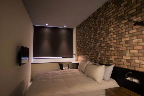 氧氣旅店 M12館 - 台北 - 臥室