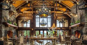 The Whiteface Lodge - Lake Placid - Dining room