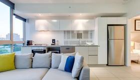 Alpha Mosaic Hotel Fortitude Valley - בריסביין - מטבח