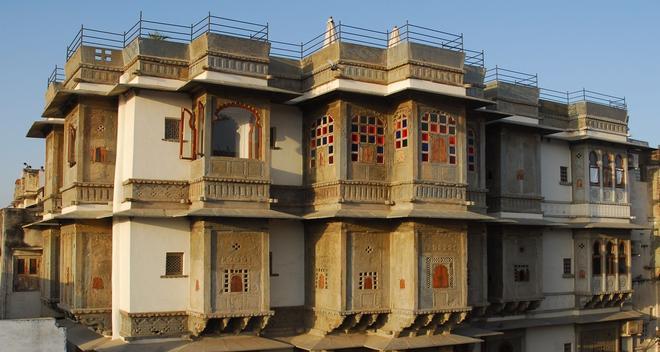 Madri Haveli - Udaipur - Rakennus