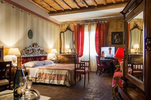 阿托斯卡納酒店 - 盧卡 - 盧卡 - 臥室