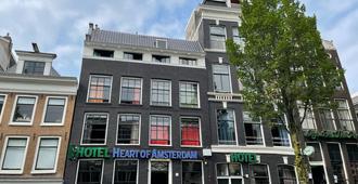 Budget Hostel Heart of Amsterdam - Amsterdam - Building