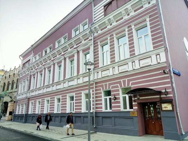 Pushkin Hotel - Moscow - Building