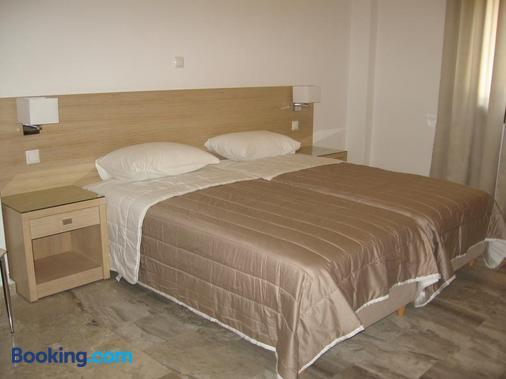 Topaz Apartments - Kokkari - Bedroom
