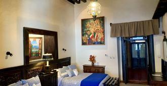 Hotel Mansion Iturbe - Pátzcuaro - Κρεβατοκάμαρα