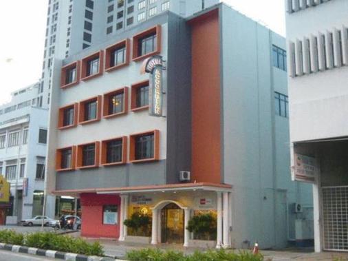Accordian Hotel - Малакка - Здание
