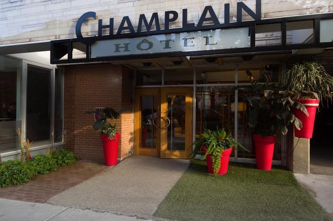 Hôtel Champlain Vieux Québec - Quebec - Rakennus
