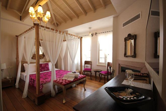 Nisi Hotel - Adults Only - Ayvalık - Bedroom