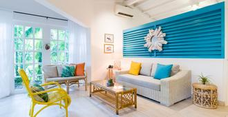 Boardwalk Small Hotel Aruba - Noord - Wohnzimmer