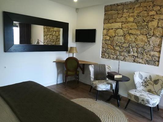 Agartha Boutique Hotel - Stonehouse - Tomar - Living room