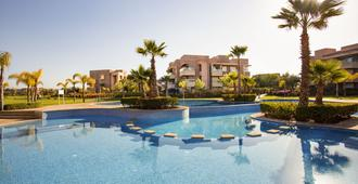 Darkech Prestigia Luxury Apartment in Marrakech - 馬拉喀什 - 游泳池