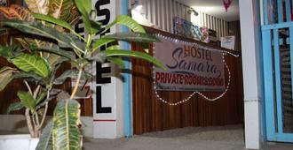 Hostel Samara - Sámara - Außenansicht