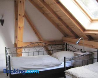 Ferienhaus auf dem Hof Lechner - Spremberg - Slaapkamer